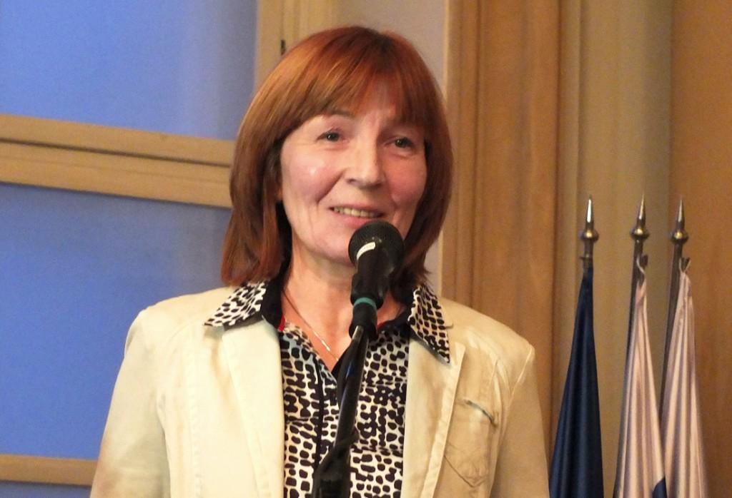 MUDr. Darina Sedláková, riaditeľka Kancelárie WHO na Slovensku